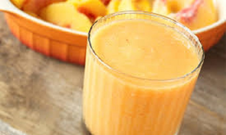 Peach Banana Mango Smoothie
